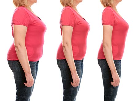 Mature Older Womans Success with Weight Loss